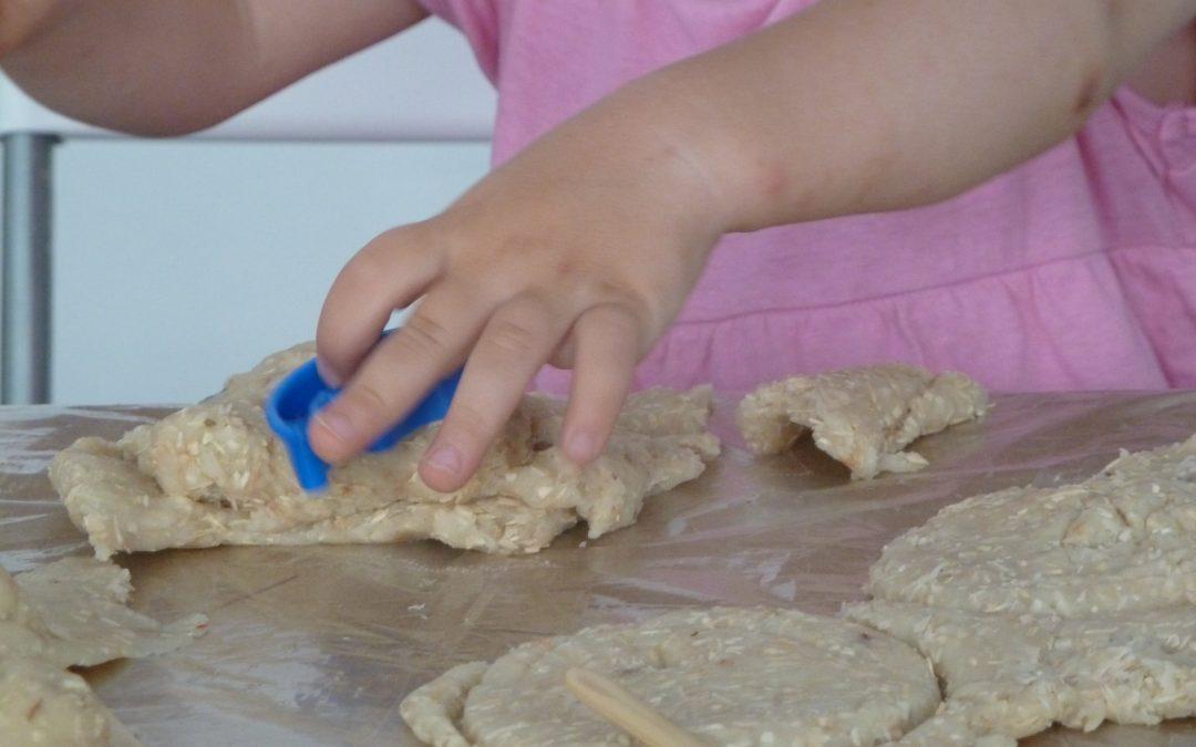 Glutenfreie Knetmasse und andere einfache Teig-Rezepte
